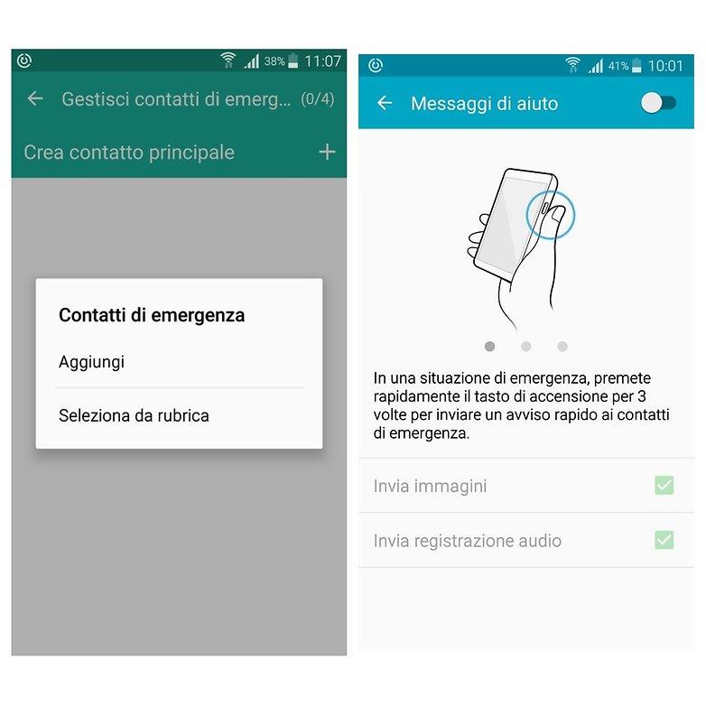 contatti emergenza A5 2016
