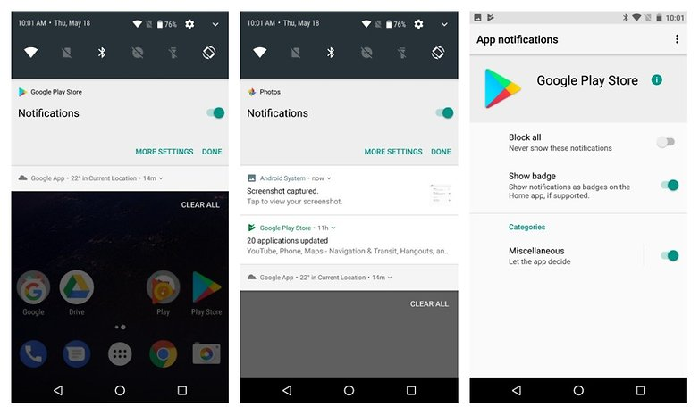 notification version alpha
