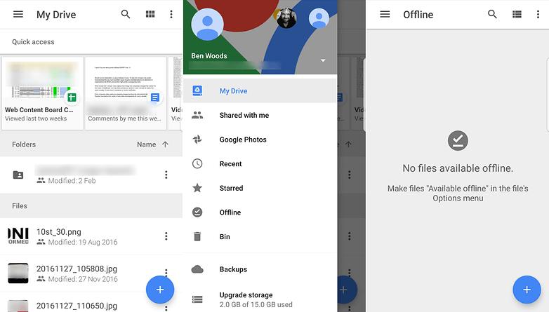 GoogleDrive androidpit