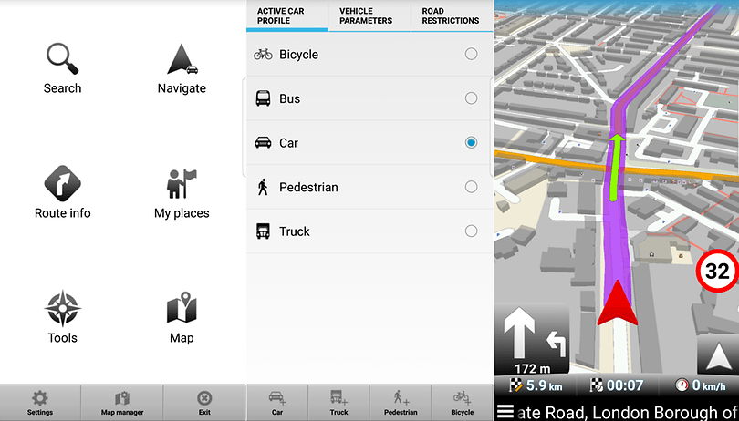Best Android navigation and route planner apps | AndroidPIT
