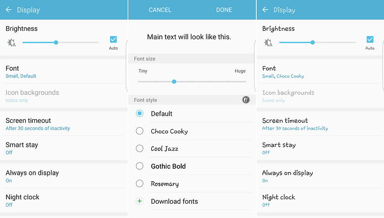 Fonts for Android: how to change your settings without root | AndroidPIT