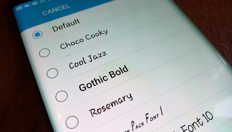 Fonts for Android: how to change your settings without root