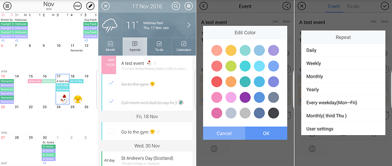 Android Calendar.Best Calendar Apps For Android