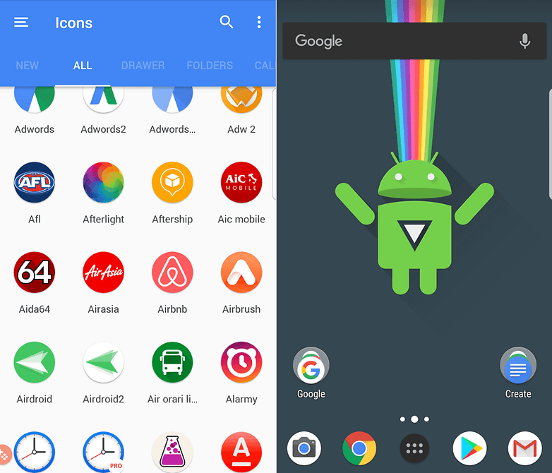 customization heaven the best icon packs for android androidpit
