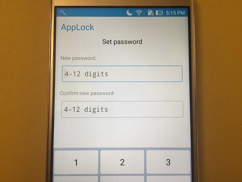 ZenFone 3 AppLock