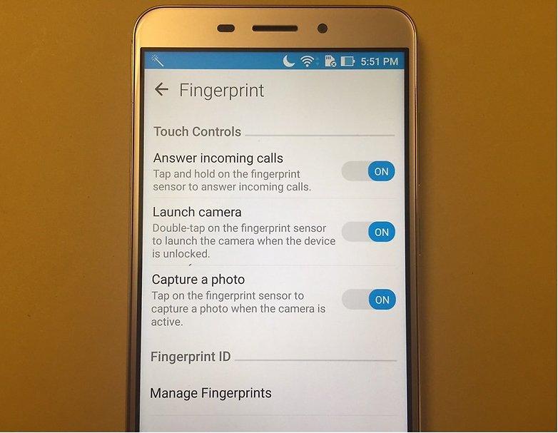 ZenFone 3 Fingerprint