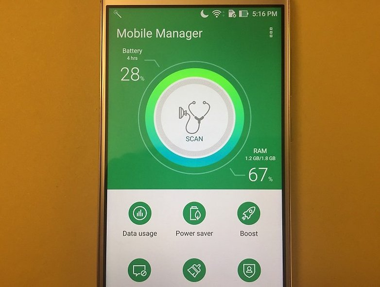 ZenFone 3 Mobile Manager
