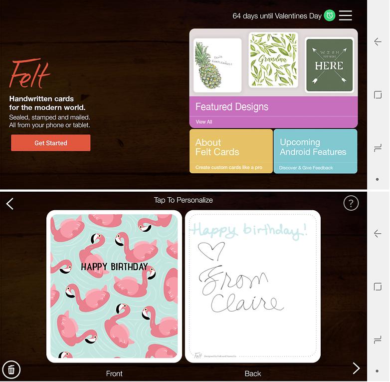 felt card app