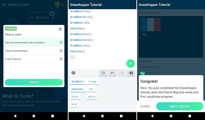 grasshopper javascript app