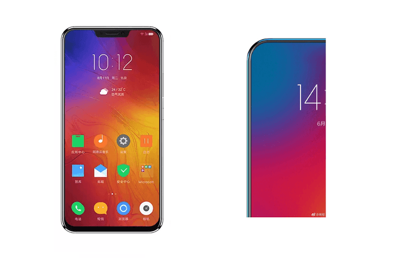 lenovo z5 notch final vs teaser