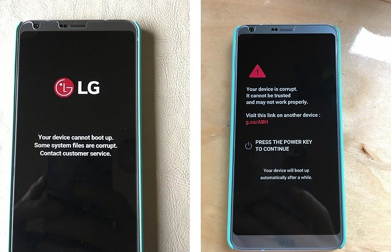 lg g6 android central selvinsosa error corrupt