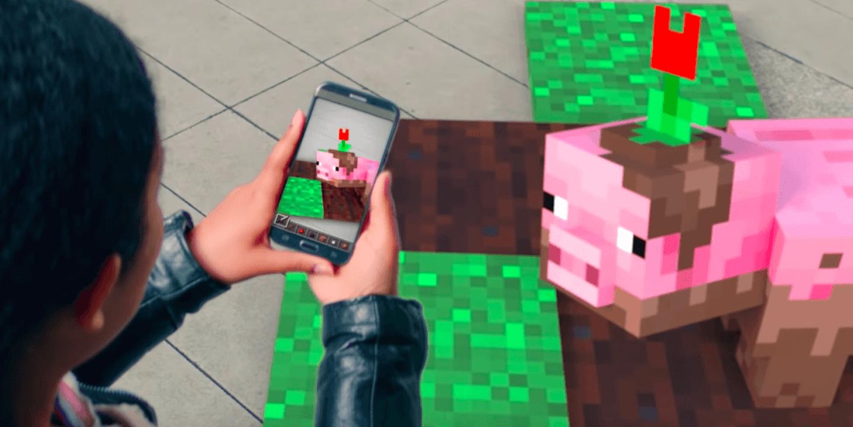 Microsoft bringt Minecraft AR auf Euer Smartphone