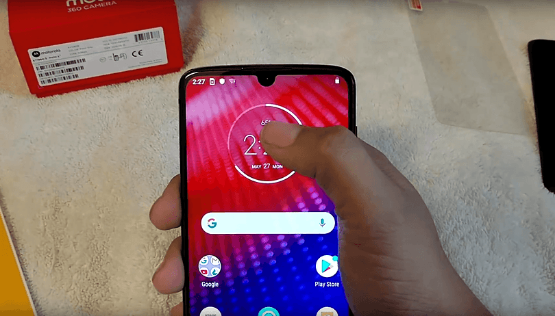 Unannounced Moto Z4 started shipping by mistake