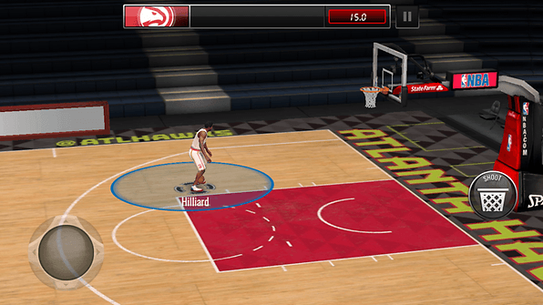 nba live screenshot