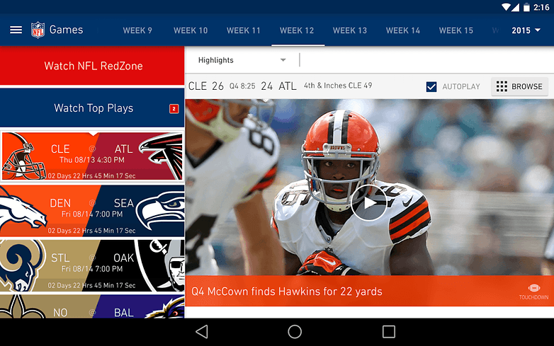 nfl mobile android