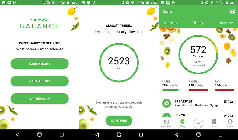 runtastic balance app