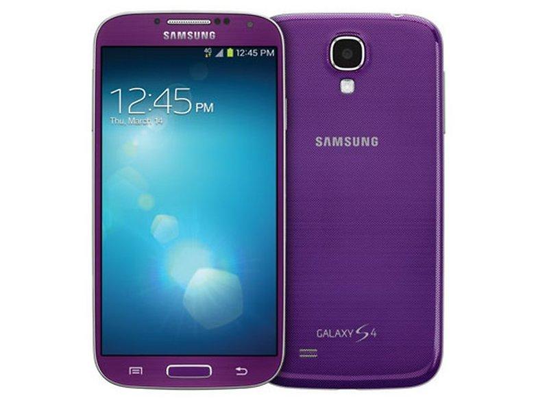 Samsung Galaxy S4 purple mirage