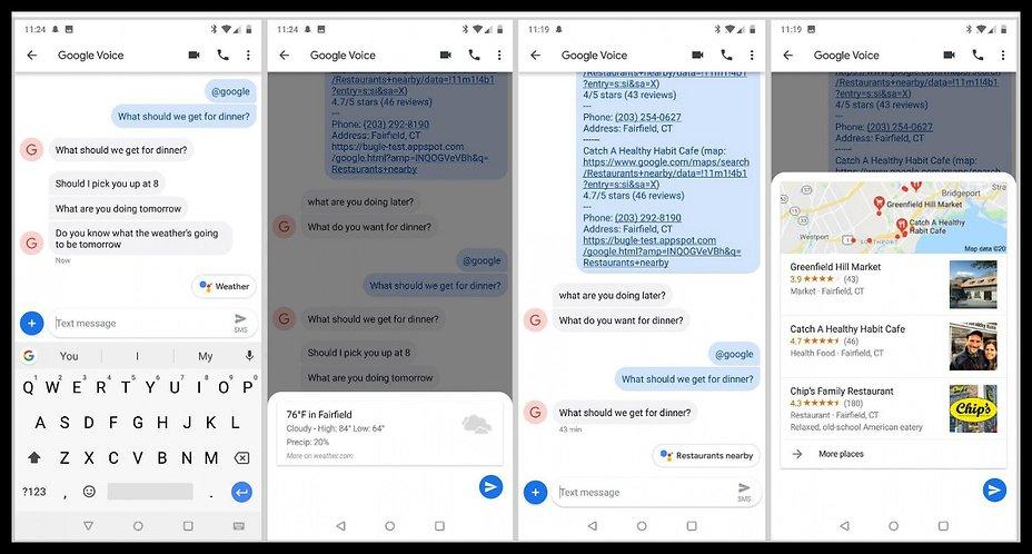 Les applications de SMS : Actualites , problemes et solutions