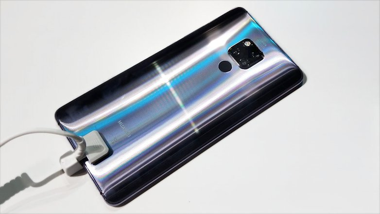 AndroidPIT Huawei Mate 20 X back