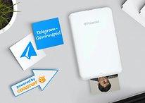 Das Telegram-Gewinnspiel: Diese Woche gibt es einen mobilen Fotodrucker von Polaroid