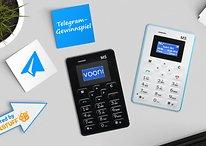 Das Telegram Gewinnspiel: Gewinne eines von drei Cardphones