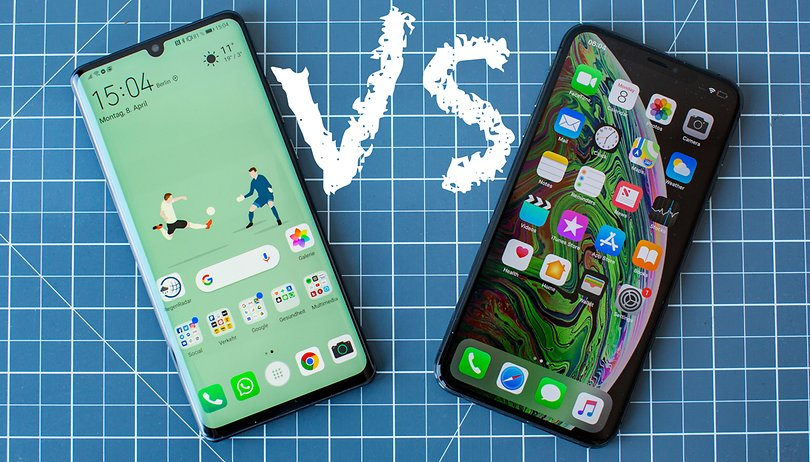 Huawei P30 Pro vs. Apple iPhone XS: un duelo muy reñido