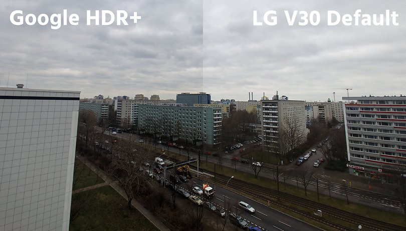 Google's HDR+ for the LG V30: Get incredible wide-angle photos