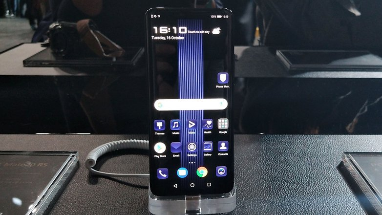 AndroidPIT porsche design huawei mate 20 rs front
