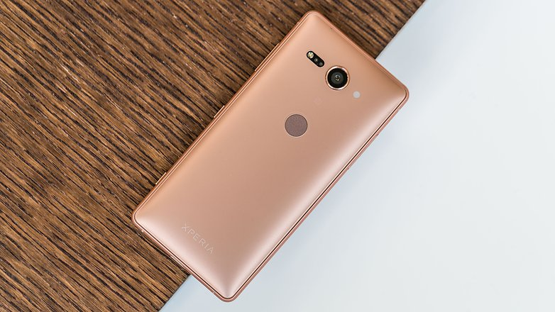 AndroidPIT sony xperia xz2 compact back u5d