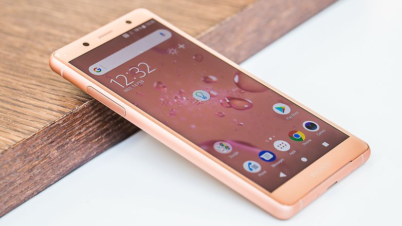 AndroidPIT sony xperia xz2 compact front iso u5d
