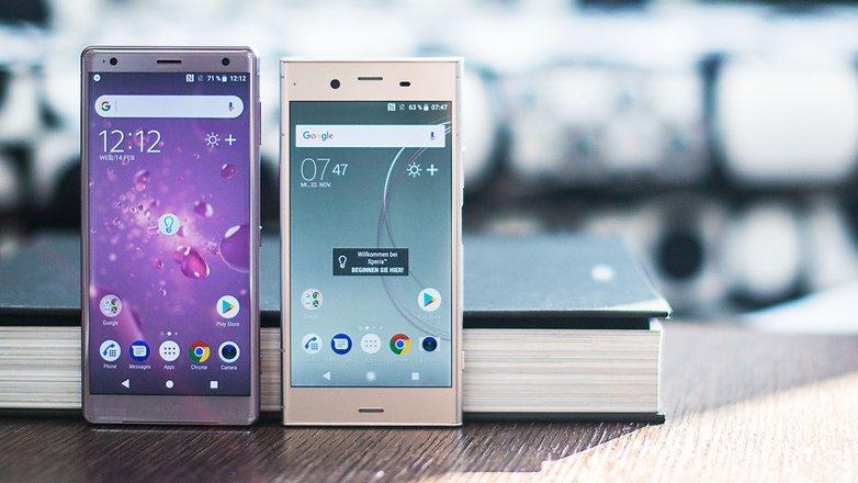 AndroidPIT sony xperia xz2 vs xz1 front u5d