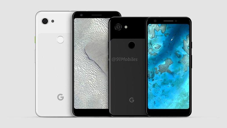 Google Pixel 3 Lite vs Pixel 3 Lite XL comparison 91mobiles 1