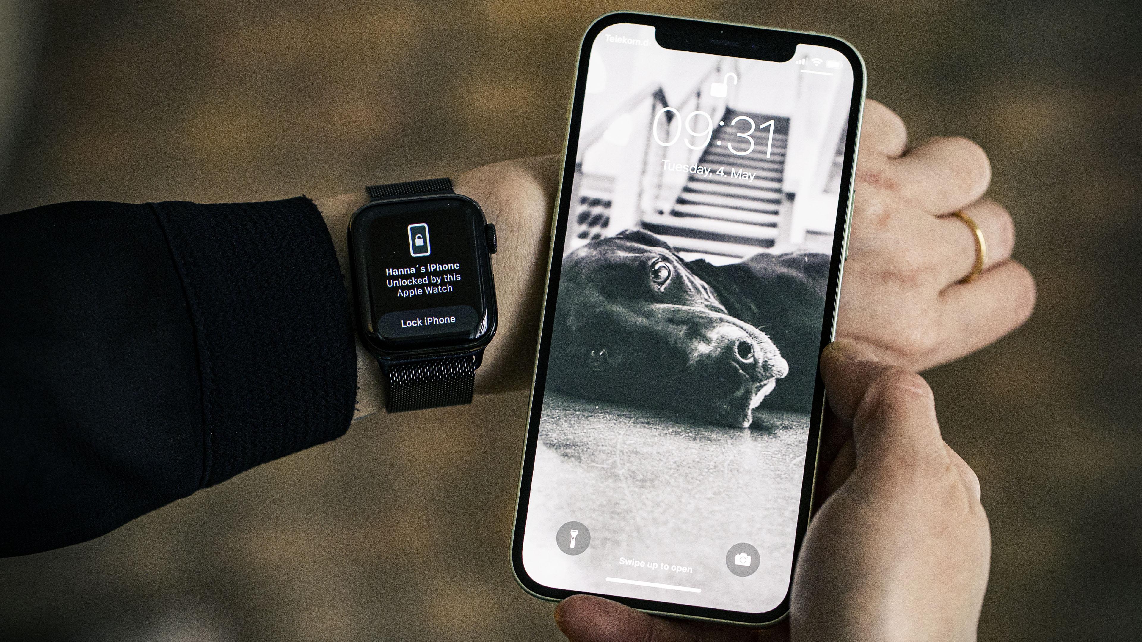 Como desbloquear o iPhone usando o Apple Watch