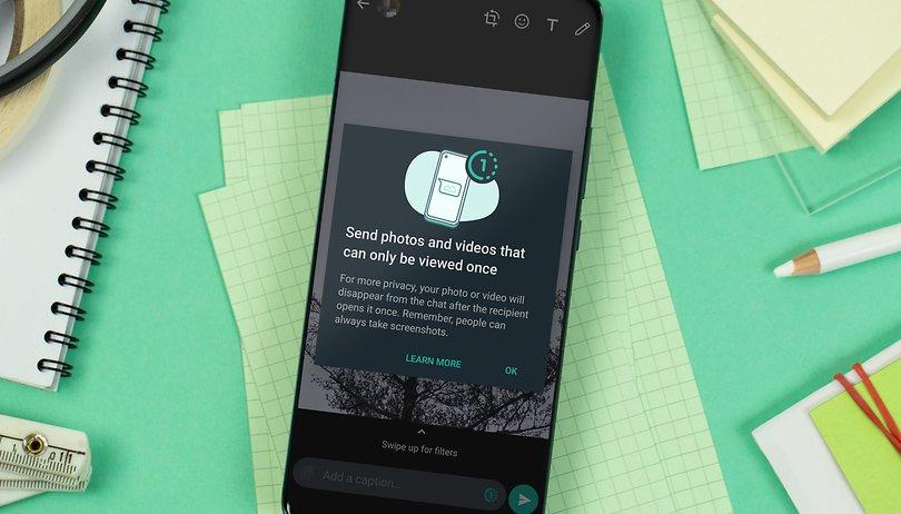 WhatsApp: Comment envoyer une photo ou vidéo à visionnage unique