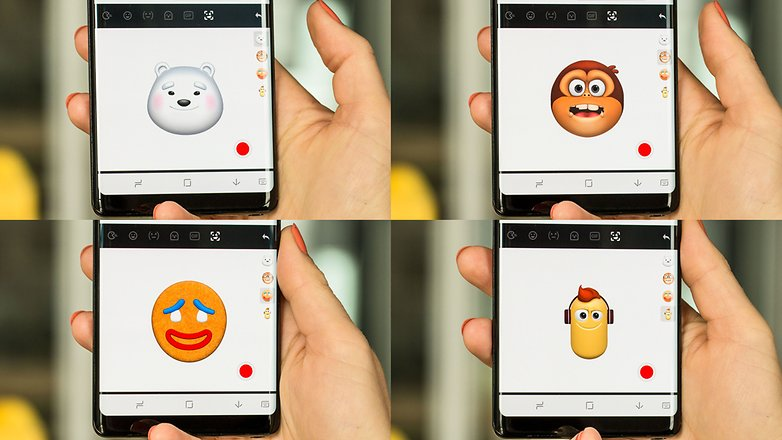 AndroidPIT touchpal ar emoji styles