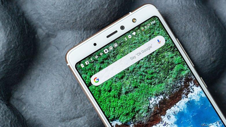 AndroidPIT bq aquaris x2 pro front camera
