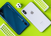 Smartphone-WM, Runde 1: Apple iPhone X vs. Huawei P20 Pro