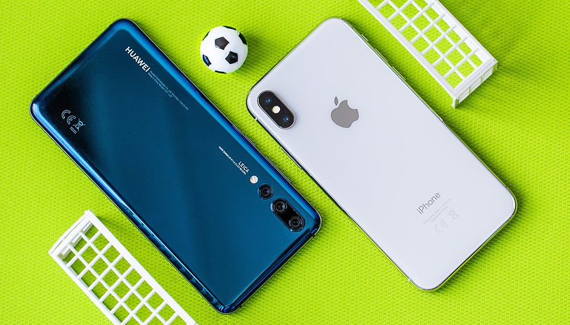 Mundial, primer partido: Apple iPhone X vs. Huawei P20 Pro
