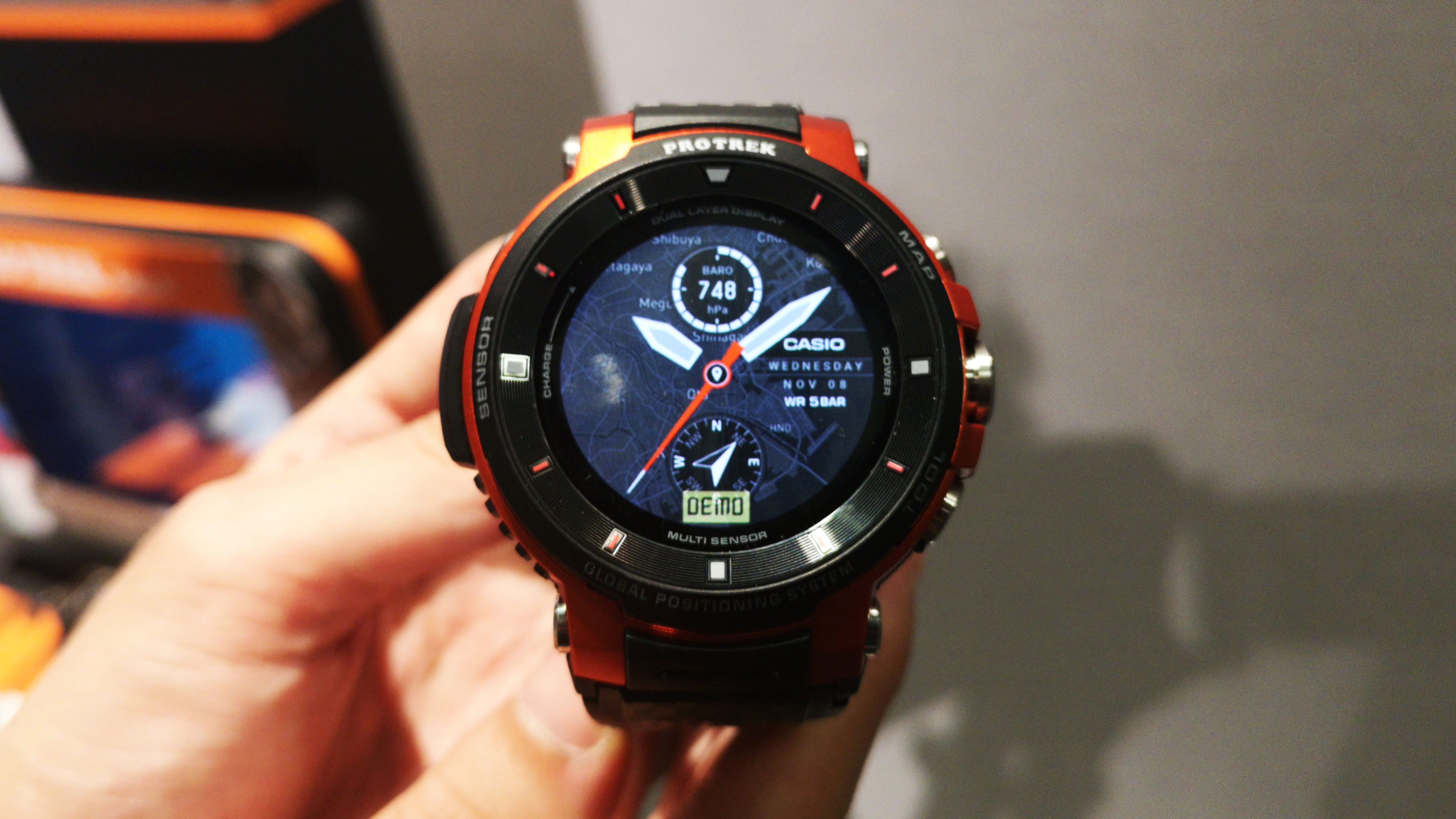 Casio's rugged new smartwatch is ready for adventure