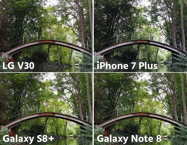 Iphone 7 vs s8 camera