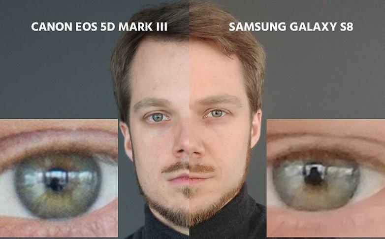dslr vs s8