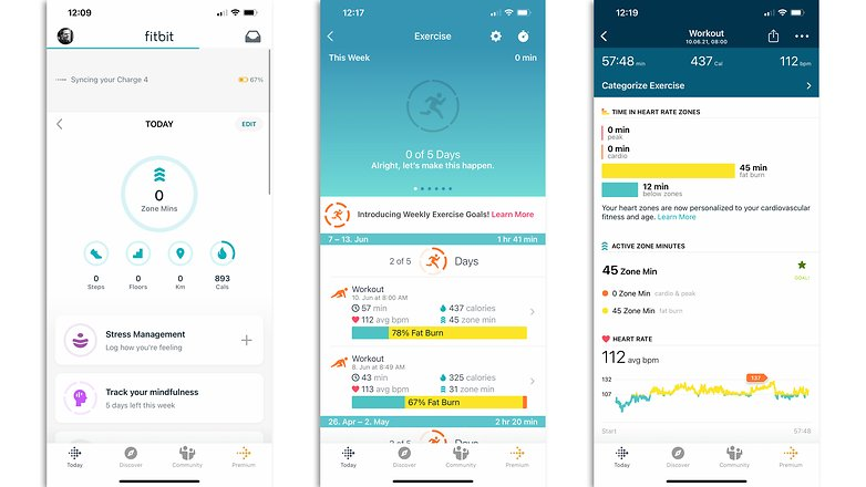NextPit fitbit setup smartphone 02