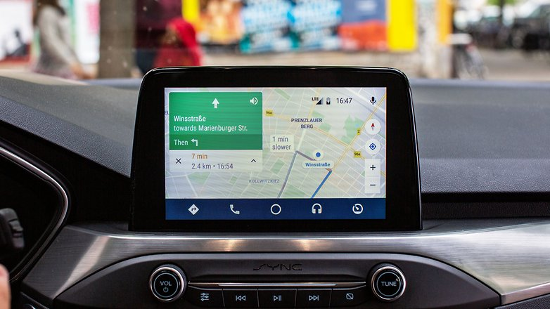 AndroidPIT ford focus titanium sync 3 android auto