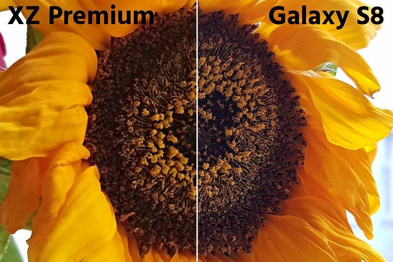 galaxy s8 xz premium makro