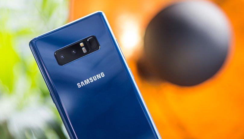 Questa è la doppia fotocamera di Samsung Galaxy Note 8!