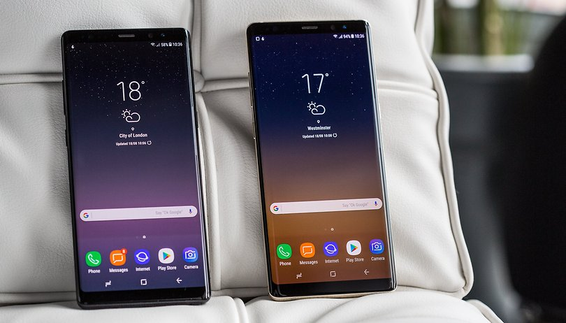Poll results: Would you buy the Note 8 or Galaxy S8+?