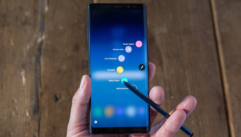 Galaxy Note 9 spotted in the wild with Samsung CEO DJ Koh