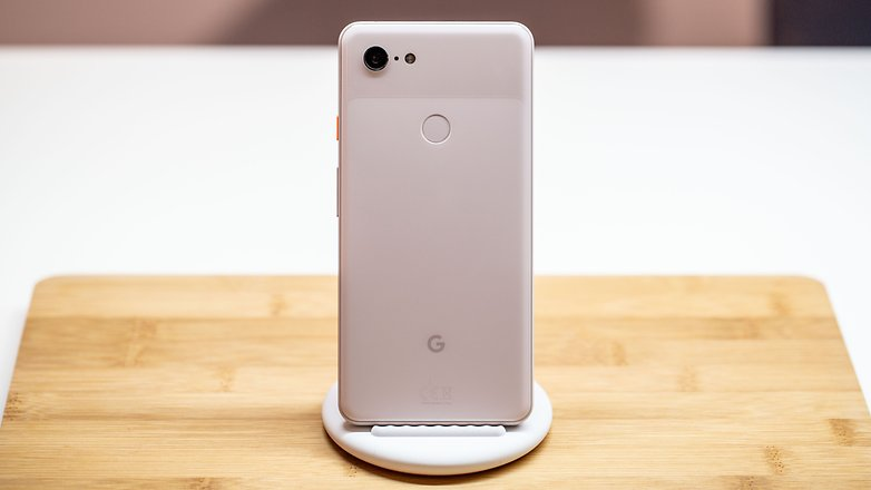 AndroidPIT Google pixel 3 xl back