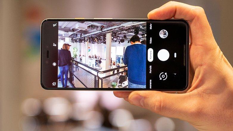AndroidPIT Google pixel 3 xl camera app