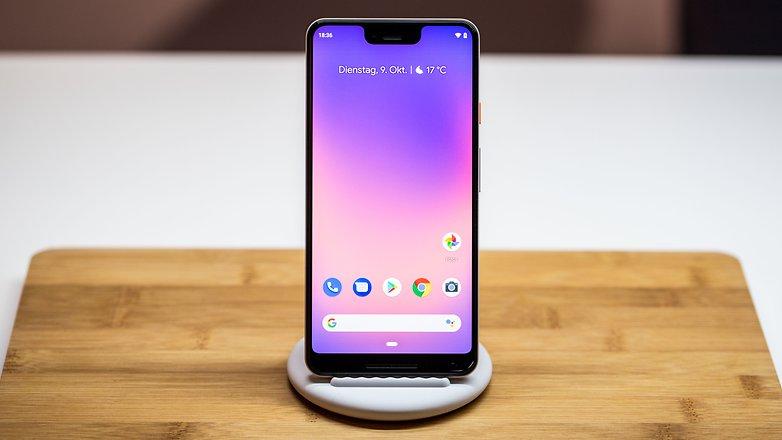 AndroidPIT Google pixel 3 xl hero